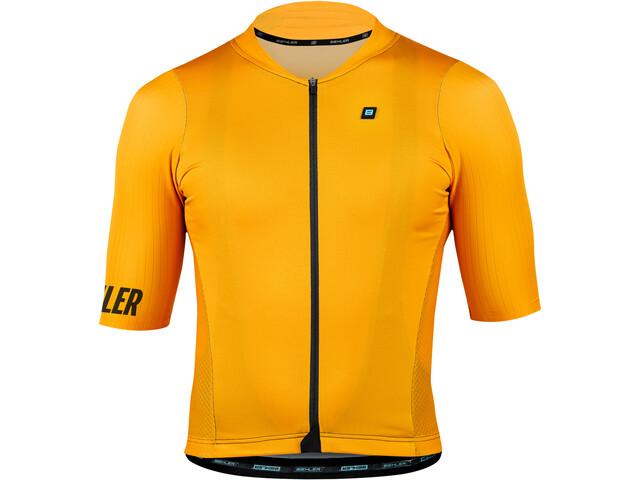 Biehler Signature³ Performance Maglietta a maniche corte Uomo, blazing yellow